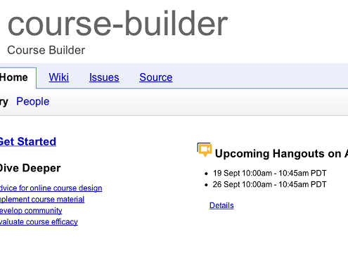 Google Course Builder